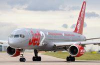 G-LSAI @ EGCC - Jet2 B752 lining-up. - by FerryPNL