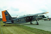 58 54 @ EGVI - Dornier Do.28D-2 Skyservant [4129] (German Air Force) RAF Greenham Common~G 23/07/1983. Taken from a slide.