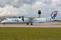 G-ECOF @ EGCC - Flybe DHC8 - by FerryPNL