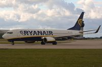 EI-DHV @ EGCC - Ryanair B738 - by FerryPNL