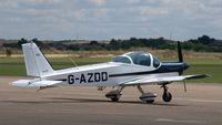 G-AZDD @ EGSU - 2. G-AZDD visiting Duxford Airfield. - by Eric.Fishwick