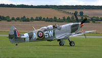 G-CTIX @ EGSU - 2. Immaculate PT462 preparing to depart Duxford Airfield.