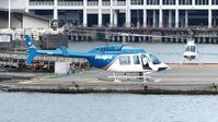 C-GXHJ @ CBC7 - Getting ready for departure from the Vancouver Harbour Heliport. - by M.L. Jacobs
