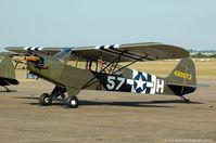 G-RRSR @ EGSU - Part of the Flying Legends 2013 line-up. - by Carl Byrne (Mervbhx)