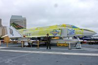 153880 - Displayed on the USS Midway on the Waterfront at San Diego , California