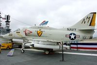 154977 - Displayed on the USS Midway on the Waterfront at San Diego , California - by Terry Fletcher