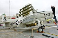 127922 - Displayed on the USS Midway on the Waterfront at San Diego , California - by Terry Fletcher