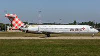 EI-EXB @ LFST - decelerating after touchdown at Strasbourg