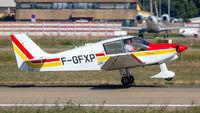 F-GFXP @ LFST - departure from Strasbourg