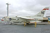 147030 - Displayed on the USS Midway on the waterfront at San Diego, California - by Terry Fletcher