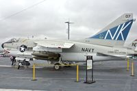 154370 - Displayed on the USS Midway on the waterfront at San Diego, California - by Terry Fletcher