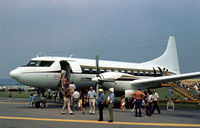 N111TA @ RDG - This Convair 640 was on display at the 1976 Reading Airshow. - by Peter Nicholson