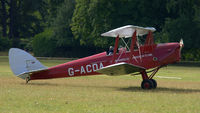 G-ACDA @ X1WP - 2. G-ACDA at The 28th. International Moth Rally at Woburn Abbey, Aug. 2013. - by Eric.Fishwick