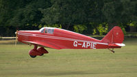 G-APIE @ X1WP - 41. G-APIE at The 28th. International Moth Rally at Woburn Abbey, Aug. 2013. - by Eric.Fishwick