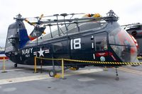 N88949 - Displayed on the USS Midway on the Waterfront in San Diego , California.