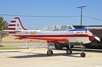 N9073E @ KSEE - Ex Ukraine AF Yak52 at Gillespie  Field , San Diego
