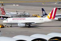 D-AGWA @ LOWW - Germanwings A319 - by Thomas Ranner