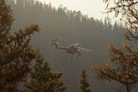 N793HT - Working the Jaroso Fire near Cowles, New Mexico