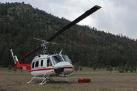 N58HJ - N58HJ - Jaroso fire, Cowles, NM - June 2013