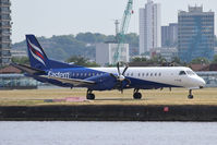 G-CDKA @ EGLC - Just landed at London City. - by Graham Reeve