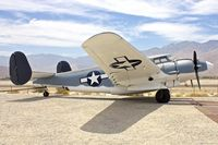 N7273C @ KPSP - Displayed at the Palm Springs Air Museum , California