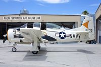 N372C @ KPSP - Displayed at the Palm Springs Air Museum , California
