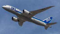 JA814A @ EDDF - departure from Frankfurt