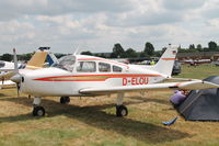 D-ELOU @ EBDT - Schaffen fly in  17-8-2013 - by Raymond De Clercq