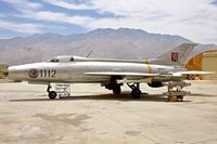 1112 @ KPSP - Displayed at the Palm Springs Air Museum , California - by Terry Fletcher
