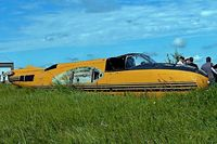 C-FEZX @ CYQF - Douglas A-26C Invader [18807] (Air Spray 1967 Ltd) Red Deer~C 23/07/2008 - by Ray Barber