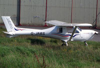 G-JABS @ EGFH - Visiting JABIRU UL-450 from the Jabiru Flyer Group, Andover. - by Derek Flewin