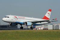 OE-LBU @ LOWW - Austrian Airlines Airbus 320 - by Dietmar Schreiber - VAP