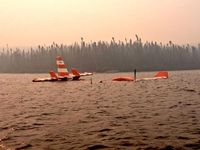 C-FIZU - after an incident on Moosehead lake, NL July 03, 2013 - by ??