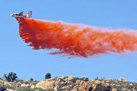 N427DF - Fire-fighting , north of Ramona , California