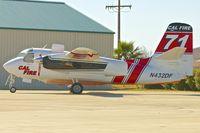 N432DF @ KRNM - At Ramona Airport , California