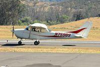N75989 @ KRNM - At Ramona Airport , California