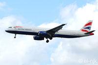 G-EUXF @ EGLL - Photographed landing 27R at Heathrow. - by Noel Kearney