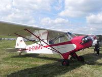 D-EMMV @ EBDT - Schaffen - Diest ,Belgium: Oldtimer Fly In , Aug 2013 - by Henk Geerlings
