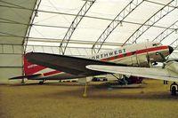 CF-BZI @ CYYC - Douglas DC-3C-47A-25-DK [13448] Calgary~C 22/07/2008 - by Ray Barber