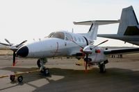 77 @ LFRH - Embraer EMB-121AN Xingu, Lann Bihoué Air Base (LFRH-LRT) - by Yves-Q