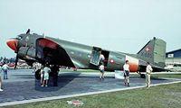 K-685 @ EKVJ - Douglas DC-3C-47A-70-DL Skytrain [19291] (Royal Danish Air Force) Stauning~OY 05/06/1982. Image taken from a slide.