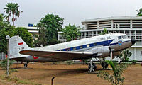 PK-VDM - Douglas DC-3C-47A-30-DL [9551] Jakarta-Saryanto~PK 25/10/2006. Displayed outside the Ministry of Defence building.