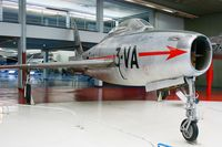 28875 @ LFPB - Republic F-84F Thunderstreak, Air & Space Museum Paris-Le Bourget (LFPB) - by Yves-Q