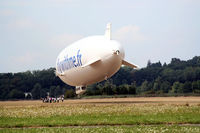 D-LZFN @ LFPT - Airship Paris, View, 5 meters high - by Thierry DETABLE