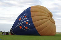G-CECS @ EGSV - Being inflated prior to flight. - by Graham Reeve