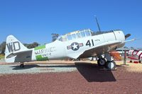 N100GD @ KNKX - Displayed at the Flying Leatherneck Aviation Museum in San Diego, California  ex BU90866