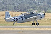 N4171A @ KRNM - At Ramona Airport , California - by Terry Fletcher