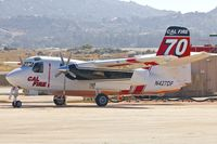 N427DF @ KRNM - At Ramona Airport - by Terry Fletcher