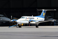 LZ-YUK @ LOWW - Air Lazur King Air 200 - by Thomas Ranner