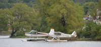 C-FGOH - At head lake in Haliburton - by Stephen B. Nicholson